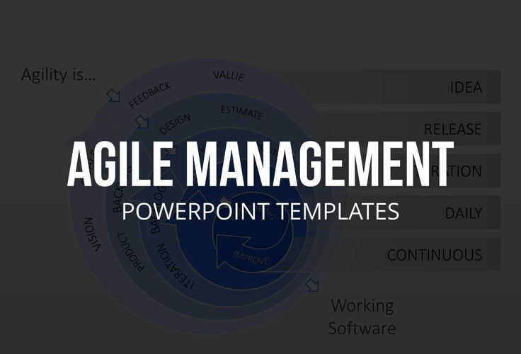 53 best images about agile management powerpoint for Well designed powerpoint templates