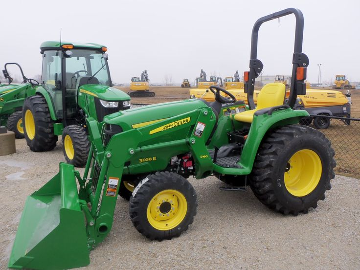 Cheap Tow Trucks >> John Deere 3038E with D160 loader | John Deere equipment ...