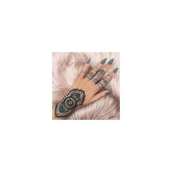 Acrylic Nails ❤ liked on Polyvore featuring beauty products, nail care, nail treatments, nail polish and nails
