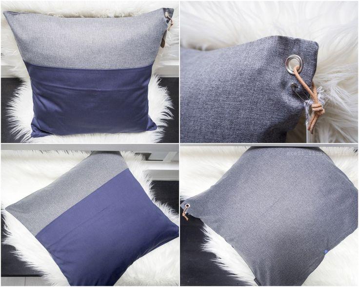 kissen grau-blau 50x50 von schumann 6