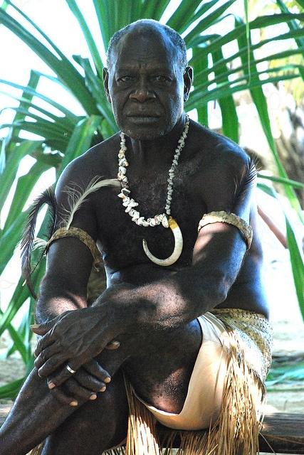Chief George, Pele Island, Shafu, Vanuatu. Photo: geoftheref via Flickr.
