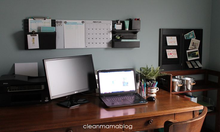 Organizing the Office with the Martha Stewart Wall Manager - Clean Mama