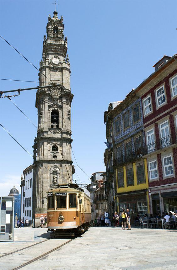 #clérigos #igreja #rua #porto #portugal