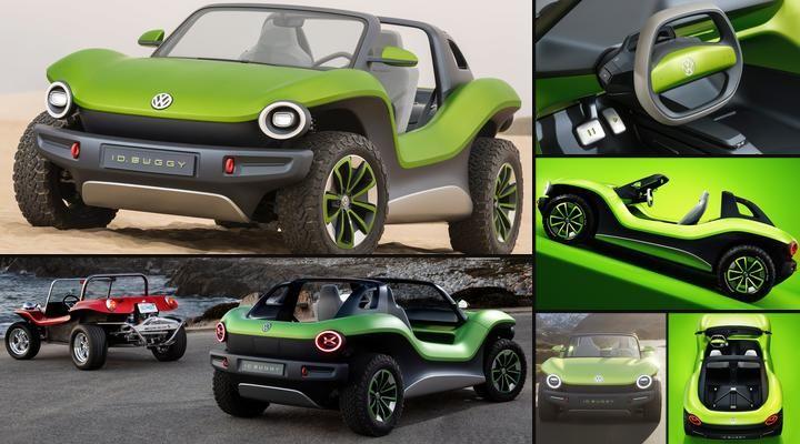 Volkswagen Id Buggy Concept Volkswagen Buggy Dune Buggy