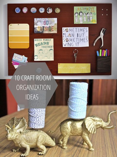 10 Craft Room Organization Ideas