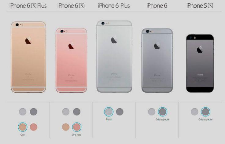 Opciones y diferencias en los nuevos modelos #iphone de #apple  Descubre las novedades en nuestro blog.