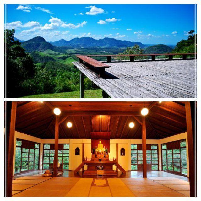 O Encontro da Paz com a Natureza no Mosteiro Zen Budista