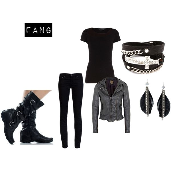 Maximum ride outfit. If I was going to pull this off I'd be max though, not fang.
