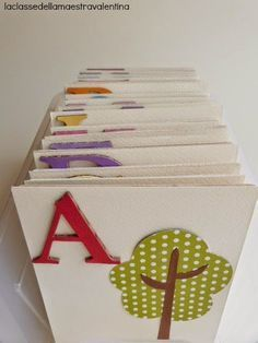 Nella classe dei 5 anni torna sicuramente utile un alfabeto... per GIOCARE con le lettere. Considerata l'infinità delle foto, non v...