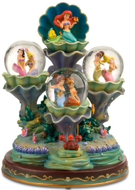 Little Mermaid Snow Globe