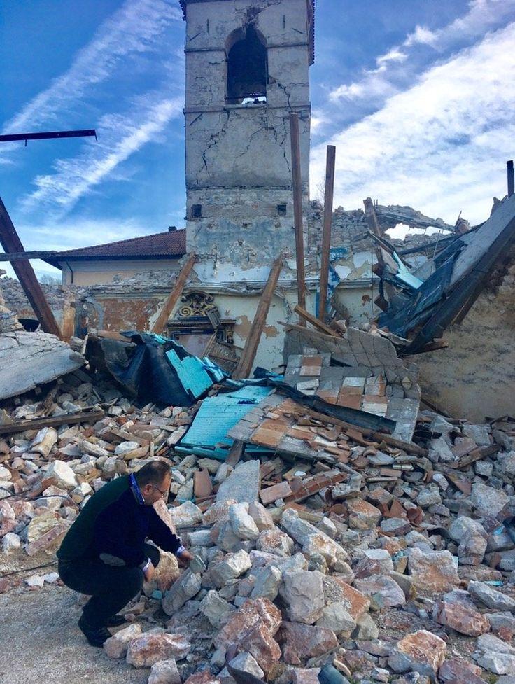 """Terremoto, troppe macerie sono ancora lì: """"E se ogni Comune d'Italia se ne facesse carico?"""""""