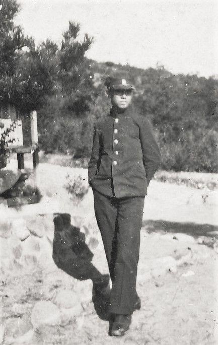 山本悍右像 名古屋市立第二商業学校4年 1929(頃) Portrait of Kansuke Yamamoto