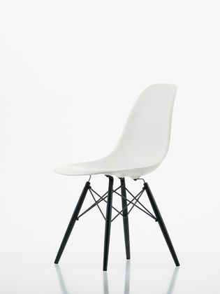 Eames Plastic Side Chair, designed by Charles & Ray Eames for Vitra.