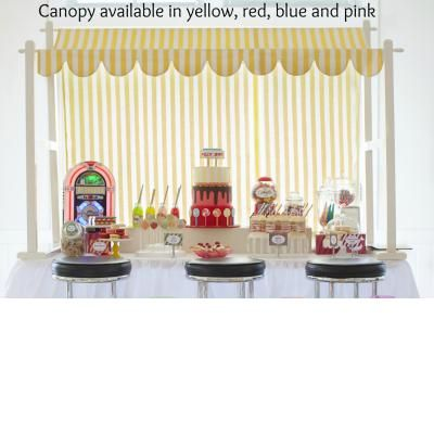Yellow canopy for hire - Ducky party theme | Life's Little CelebrationsLife's Little Celebrations