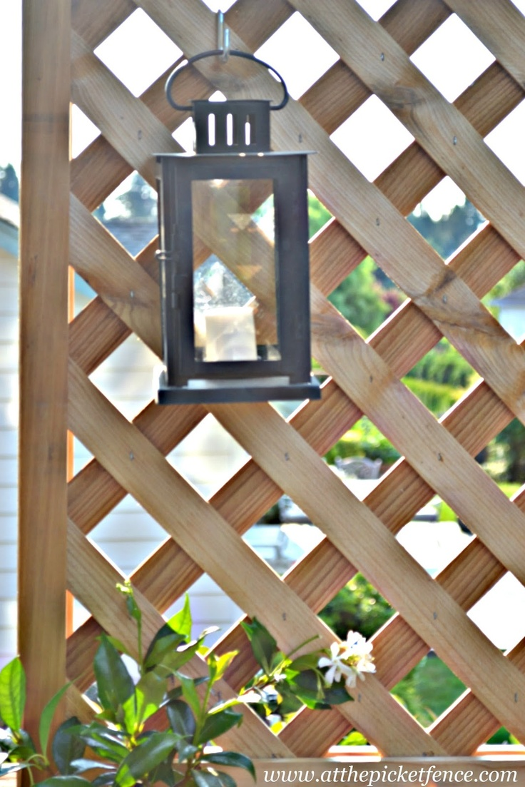 68 best images about outdoor living on pinterest master for Living screen fence