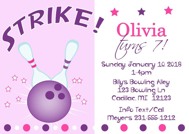 Best 25+ Bowling party invitations ideas on Pinterest Bowling - bowling invitation template
