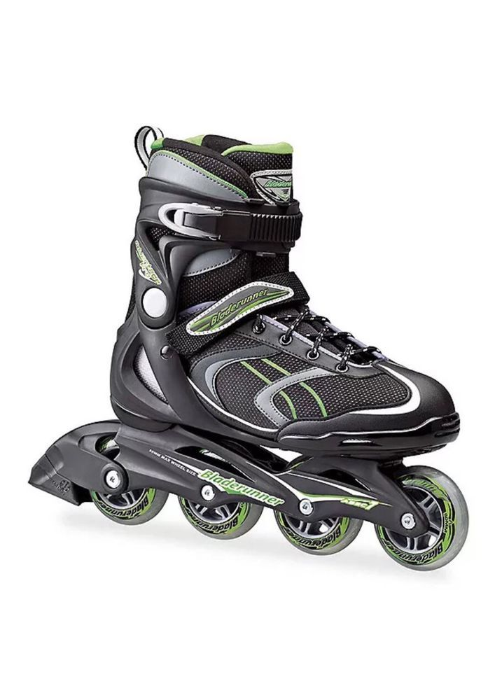 Bladerunner By Rollerblade Advantage Pro Xt Mens Adult Skates Green Black 12 New Ebay Inline Skating Rollerblade Skate Bearings