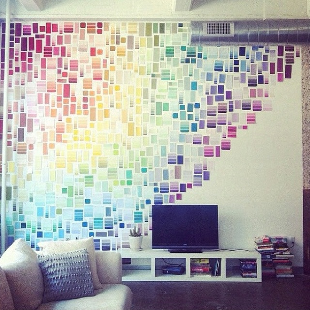 Paint Sample Wall For The Home Pinterest