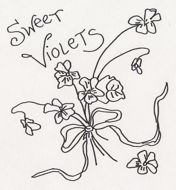 SWEET VIOLETS by jeninemd, via Flickr