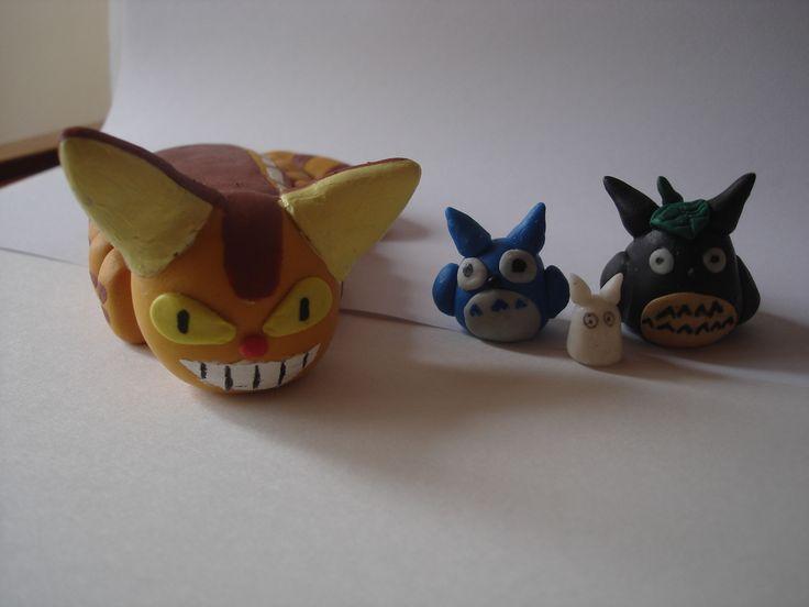 Gatobus y Totoros