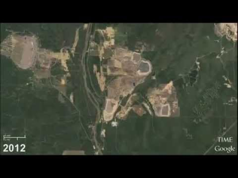 GOOGLE IMAGES TIME LAPSED - EARTH'S GROWTH CAUGHT FROM ABOVE FOR 30 YEARS
