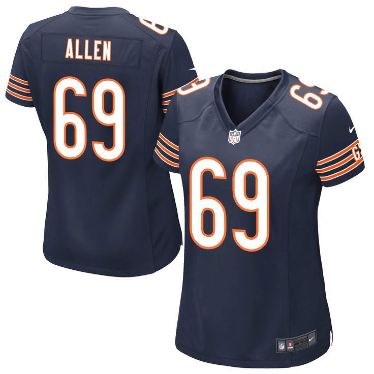 Jared Allen Chicago Bears Nike Women's Game Jersey – Navy Blue - $52.24