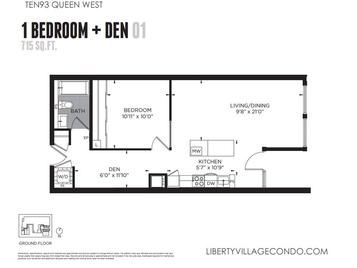 1 bedroom condo layout design ideas 2017 2018 for One bedroom condo design