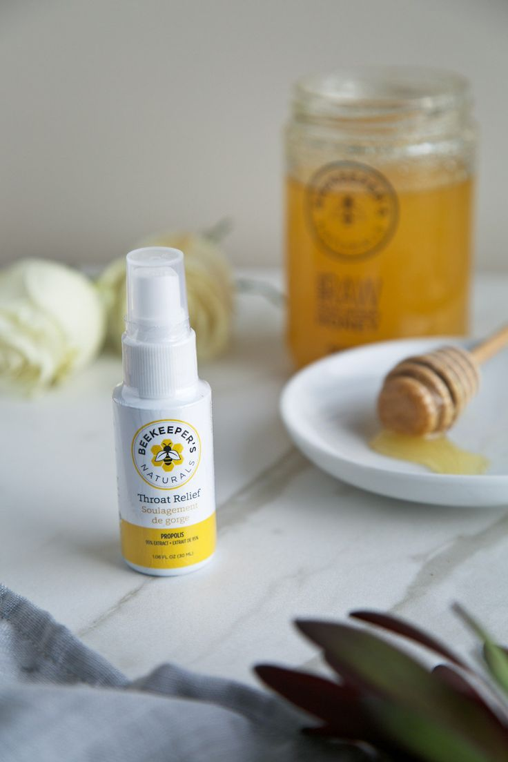 Propolis Spray (1.06 fl oz/30 mL) Beekeeper's Naturals Propolis Spray is a great source of antioxidants for the maintenance of good health. Our propolis spray is 100% Canadian-made with high grade Canadian bee propolis (95% extract). It tastes sweet and is gluten, dairy and alcohol free with no added sugar. Our spray contains just three ingredients: bee propolis, non-GMO vegetable glycerin and purified water. BKN spray typically arrives within 3-5 business days of order. RITUAL Wit...