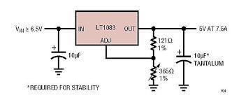 Resultado de imagen de linear regulator