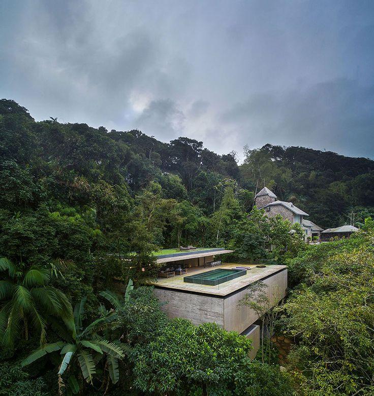 Arquitectura+vanguardista+en+el+corazón+de+la+jungla+brasileña