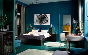 Une chambre de style boutique hôtel
