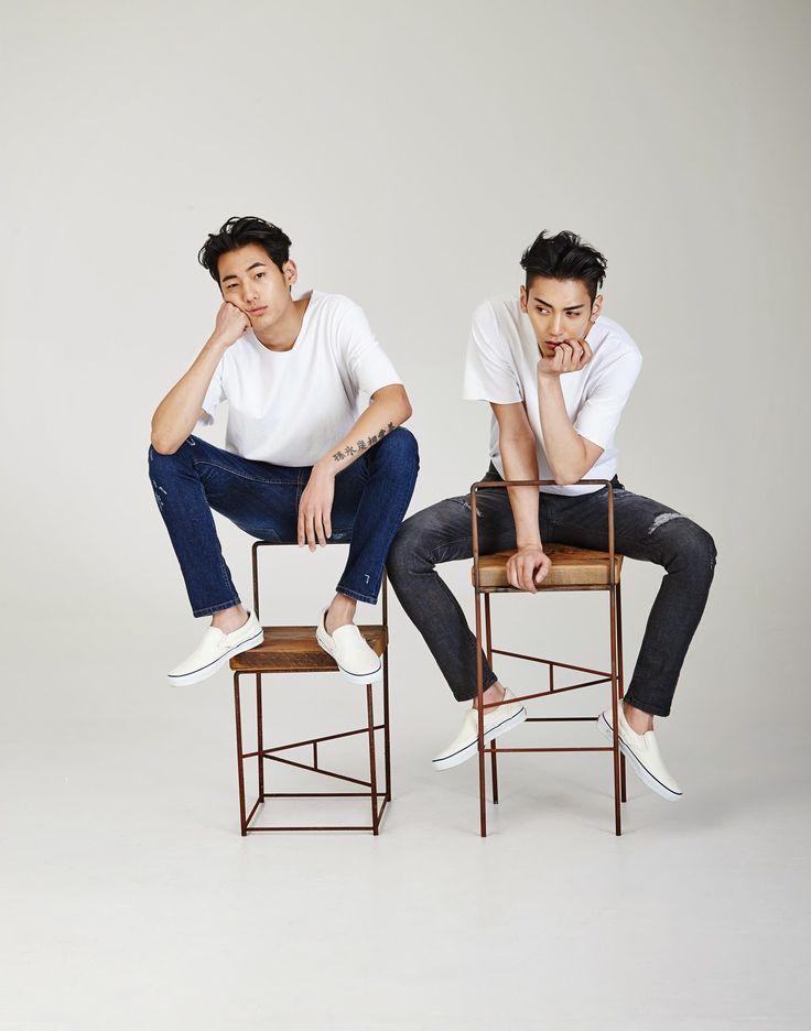Shon Minho & Kim Yongha | 2015 S/S SWALLOW BY G LOOKBOOK