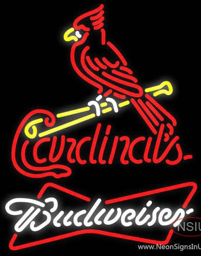 Budweiser Neon St Louis Cardinals MLB Real Neon Glass Tube Neon Sign,Affordable and durable,Made in USA,if you want to get it ,please click the visit button or go to my website,you can get everything neon from us. based in CA USA, free shipping and 1 year warranty , 24/7 service