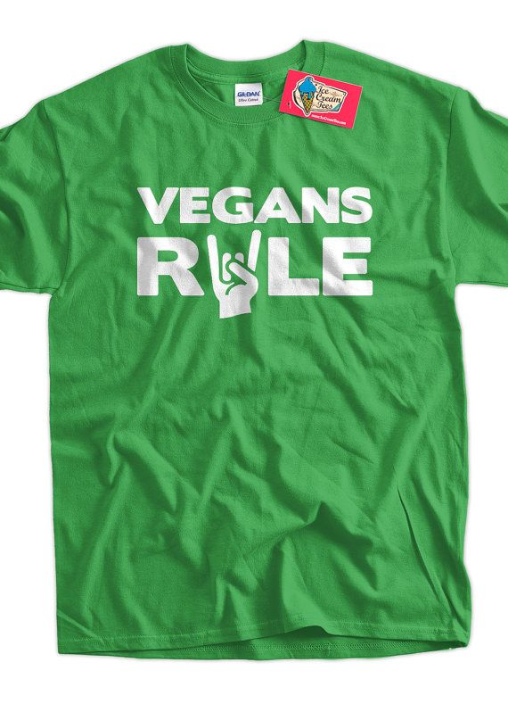 Vegan TShirt Veganism TShirt Hippie Earth Animal by IceCreamTees, $14.99