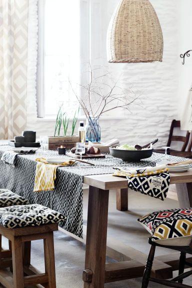 Galette de chaise à motif | H&M