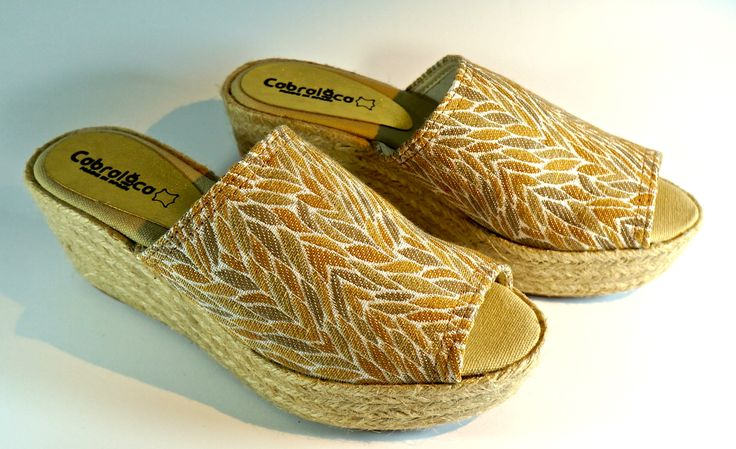 Yute wedges for freshness and comfort. MA-09