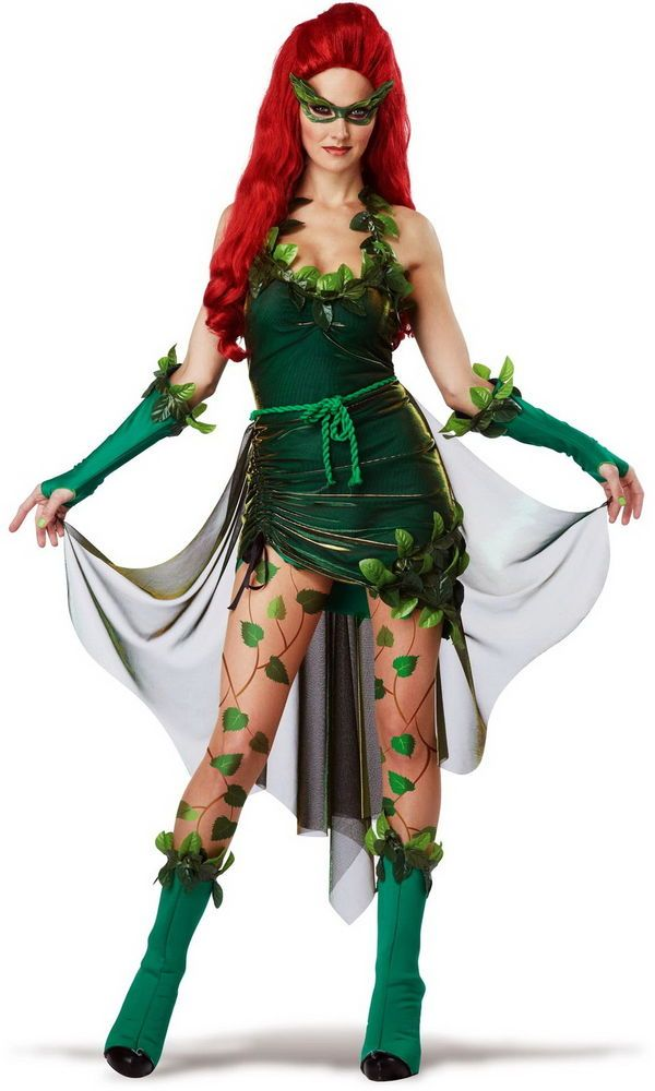 Kiss Of Death Lethally Beautiful Poison Ivy Batman & Robin Costume Adult Womens #CaliforniaCostumeCollection