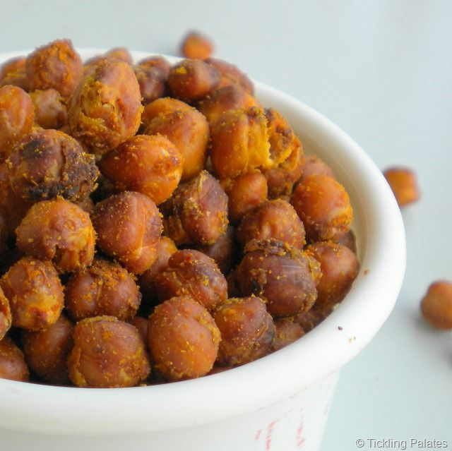 Oven Roasted Chick Peas / Garbanzo Beans