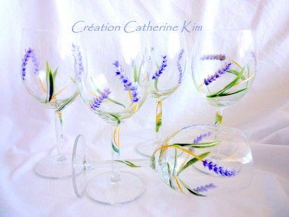 1000 ideas about verre pied on pinterest rangement foulard porte verre - Peindre des verres a pied ...