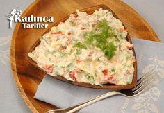 Tavuklu Lahana Salatası Tarifi