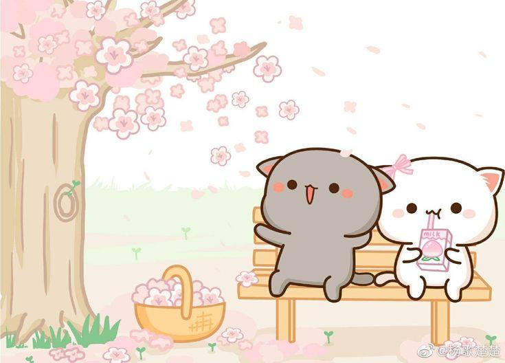 Gambar Kucing Lucu Kartun godean.web.id