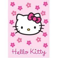 Tapis enfants HELLO KITTY fleur rose 95x133 Hello Kitty - Hello Kitty - 19.90€  Pour la décoration des chambres des toutes petites ! A acheter sur : http://www.annuaire-enfants-kibodio.com/hello-kitty/objet-deco.html