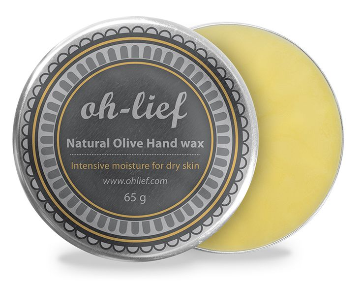 Natural Olive Hand Wax - A light blend of organic oils to moisturise and soften dry, damaged hands. The formula combines lavender, roman chamomile and tea tree oils known for their anti-bacterial and healing properties, with the strengthening and protecting benefits of beeswax.
