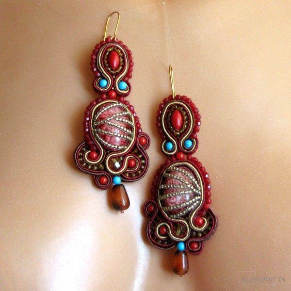 Kolczyki Lara - Kolczyki - Biżuteria artystyczna