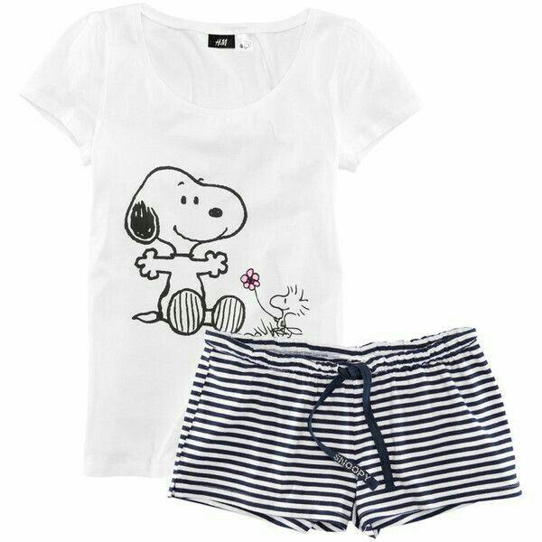 Snoopy pajamas
