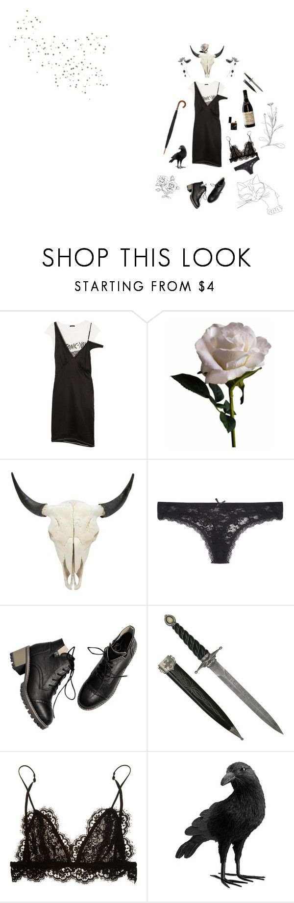 """whispering rain"" by delicate-mona ❤ liked on Polyvore featuring R13, Abigail Ahern, Wet Seal, Isabel Marant and Pottery Barn"