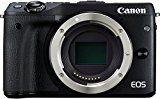 Canon EOS M3 Systemkamera (24 Megapixel APS-C CMOS-Sensor, WiFi, NFC, Full-HD) nur Gehäuse schwarz