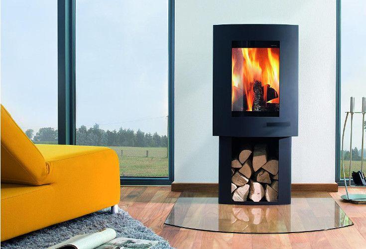 Ivo 2.0 to kominek wolnostojący, który można zamontować w domach energooszczędnych i pasywnych.