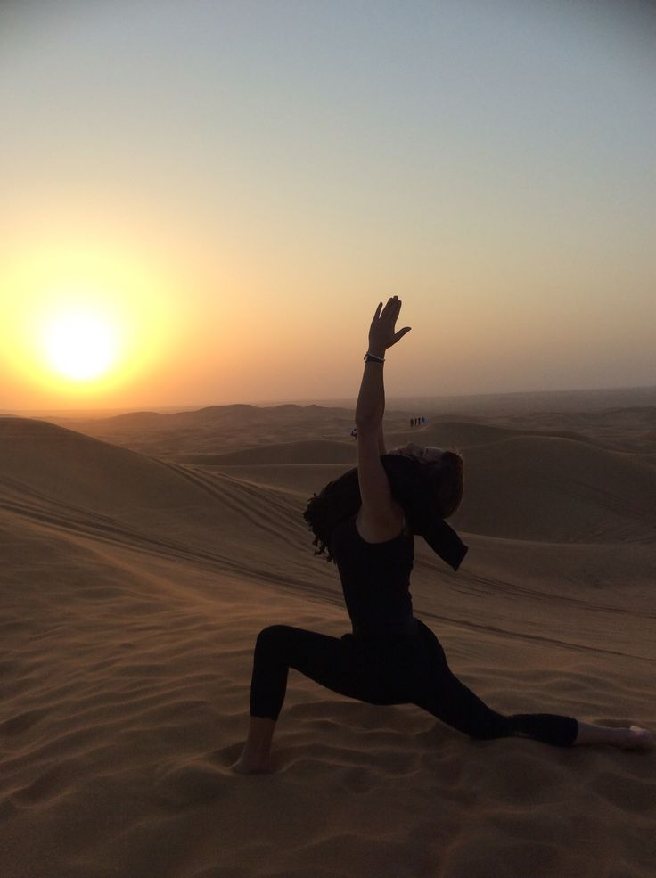 Sky is the limit..  #warrior #dubai #desert
