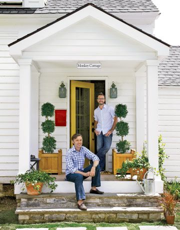 front porch  from Country Living, stone porch